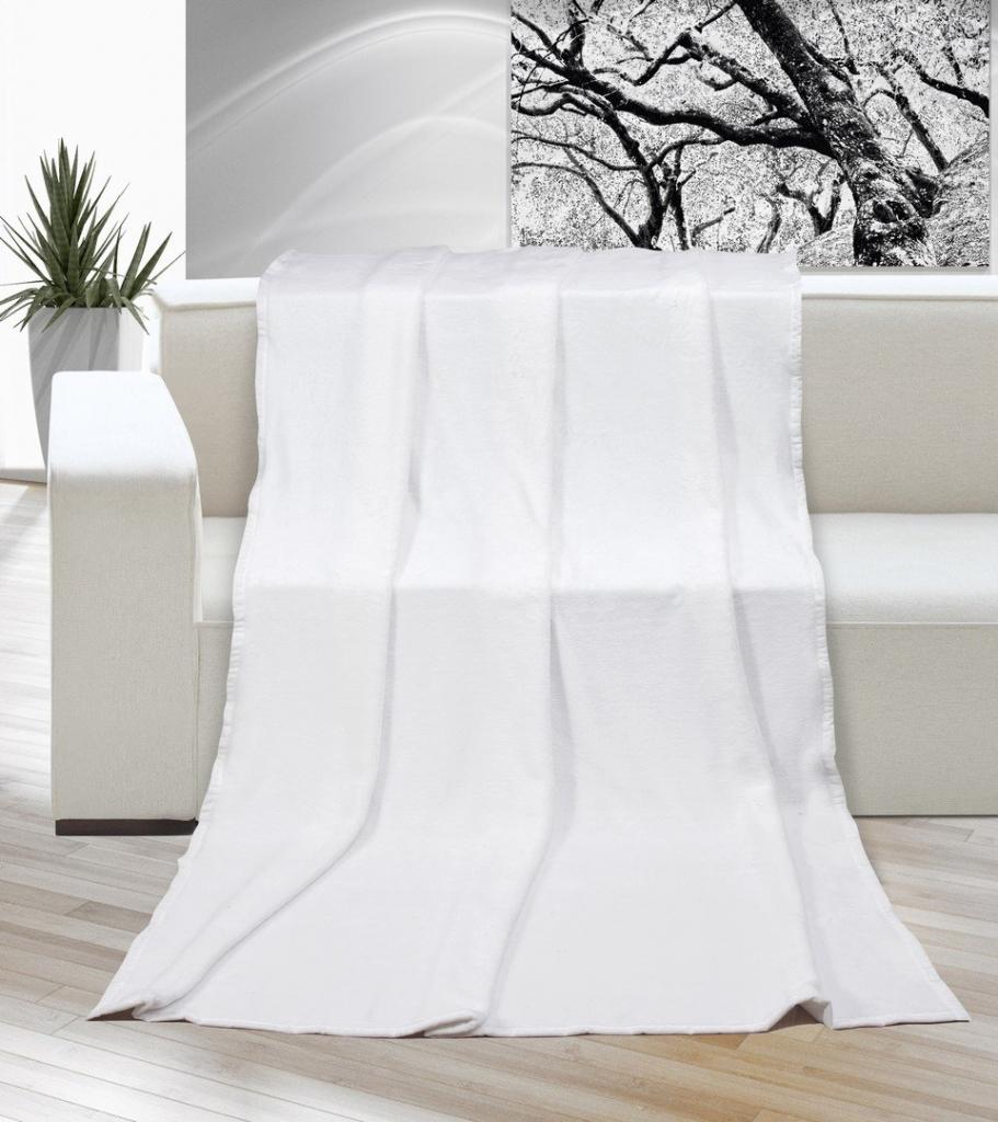 Bellatex Přikrývka KORALL MICRO 200x230 cm Rozměr 200x230 cm, Barva Bílá